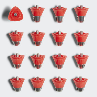 adipower Replacement Studs Red/Silver BQ0701