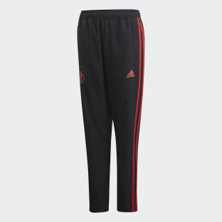 Manchester United Downtime Broek Black / Blaze Red / Core Pink CW7616