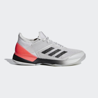 Adizero Ubersonic 3.0 Shoes Grey / Core Black / Cloud White AH2137