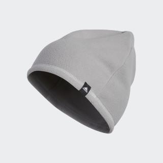 Bonnet 3-Stripes Fleece Mid Grey BC5317