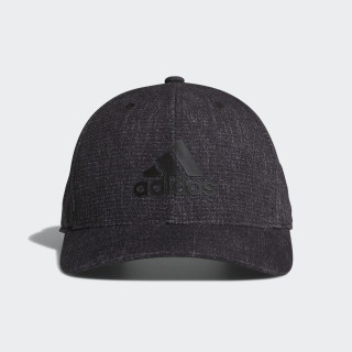 Heathered Snapback Hat Black CW0833