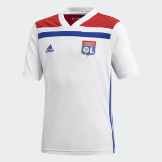 Olympique Lyon Heimtrikot White / Collegiate Red CF9156