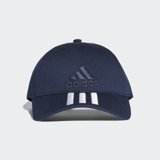 Six-Panel Classic 3-Stripes Cap Collegiate Navy/White BK0808