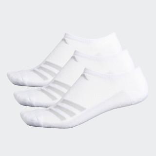 Climacool Superlite Stripe No-Show Socks 3 Pairs White CJ0584
