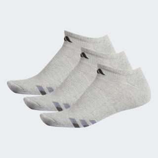 Cushioned No-Show Socks 3 Pairs Light Onix / Black / Granite H77467