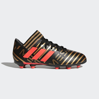 Calzado Nemeziz Messi 17.3 Terreno Firme CORE BLACK/SOLAR RED/TACTILE GOLD MET. F17 CP9173