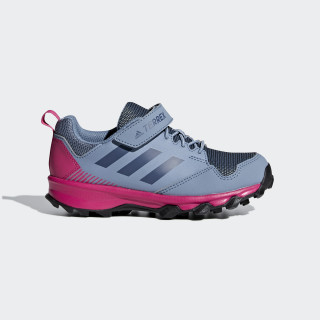 Zapatillas TERREX TRACEROCKER CF K RAW GREY S18/TECH INK/REAL MAGENTA AC7950