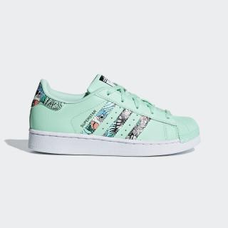 Superstar Schoenen Clear Mint / Ftwr White / Ftwr White B96258