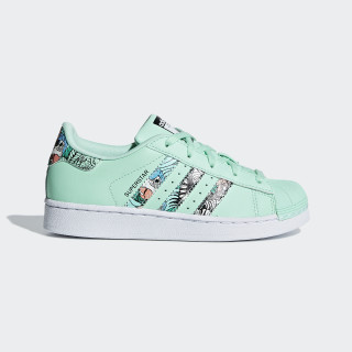 Superstar Schuh Clear Mint / Ftwr White / Ftwr White B96258