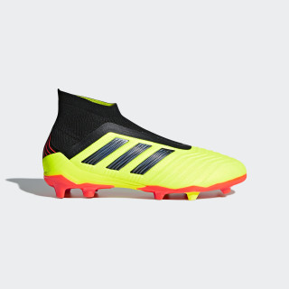 Bota de fútbol Predator 18+ césped natural seco Solar Yellow / Core Black / Solar Red DB2311