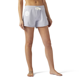 LES MILLS® French Terry 4 Inch Short Cloud Grey CE6700
