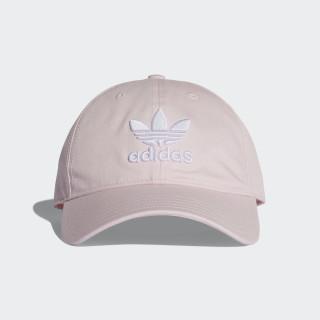Trefoil Classic Cap Clear Pink / White DJ0882