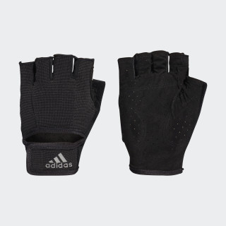Climalite Versatile Gloves Black/Black/Iron Metallic CF6136