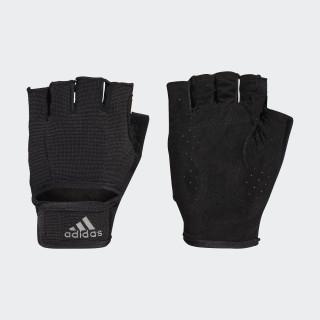 Climalite Versatile Handschoenen Black/Black/Iron Metallic CF6136