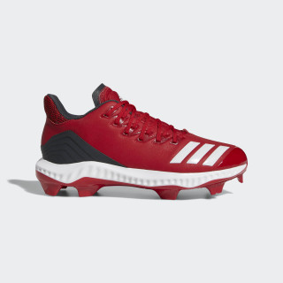 Icon Bounce TPU Cleats Power Red / Cloud White / Carbon AQ0157