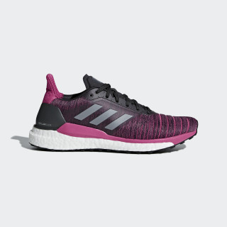 Zapatilla Solar Glide Carbon / Grey Three / Real Magenta AQ0335