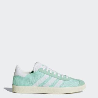 Gazelle Primeknit Shoes Easy Green/Footwear White/Chalk White BB5210
