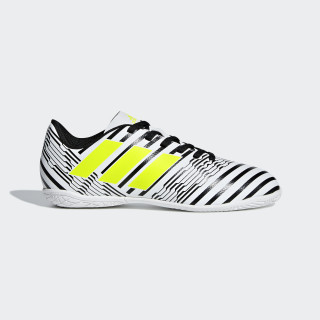 Calzado de Fútbol Nemeziz 17.4 Indoor FTWR WHITE/SOLAR YELLOW/CORE BLACK S82464