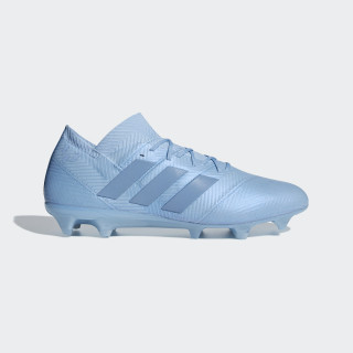 Nemeziz Messi 18.1 Firm Ground støvler Ash Blue / Ash Blue / Gold Met. DB2089