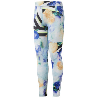 Girl Squad Frozen Roses Leggings Blue Lagoon CF9434