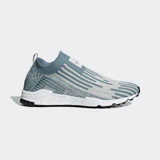 EQT Support Sock Primeknit Shoes Raw Green / Ash Silver / Core Black B37525