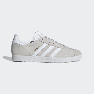 Gazelle Shoes Grey / Cloud White / Gold Metallic F34053