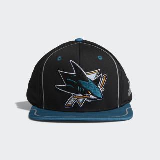 Sharks Flat Brim Hat Multi CX2526