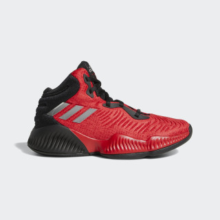 Mad Bounce 2018 Shoes Core Black / Silver Metallic / Scarlet BB7544