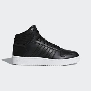 Chaussure Hoops 2.0 Mid Core Black / Core Black / Carbon B42100