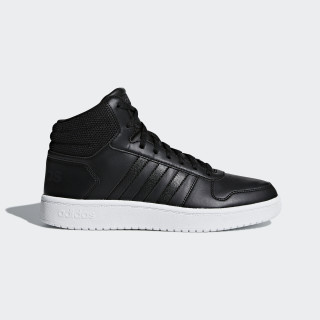 Hoops 2.0 Mid Shoes Core Black / Core Black / Carbon B42100