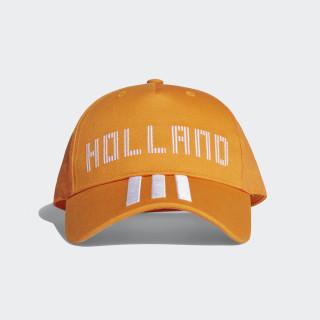 Gorra Holland BRIGHT ORANGE/WHITE CF5191