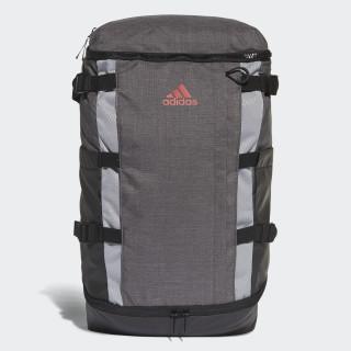 Rucksack Backpack Dark Grey Heather/Scarlet BC2250