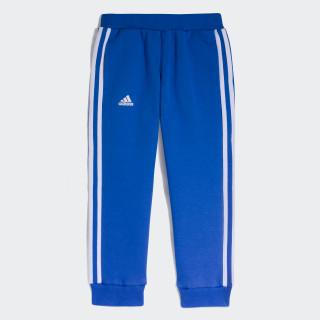 Pantalones Deportivos Jóvenes Atletas BLUE/WHITE MELANGE/WHITE CW2029