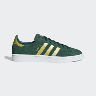 Campus Shoes Collegiate Green / Matte Gold / Ftwr White B37827
