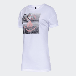 Remera Athletic Vibe WHITE CX0108