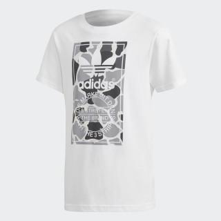 Camiseta Camo Trefoil WHITE/MULTICOLOR DH2708