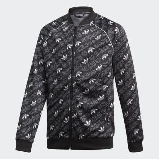 Trefoil Monogram SST Track Jacket Black / White DI0264