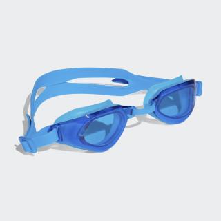 persistar fit unmirrored swim goggle junior Bright Blue/Bright Blue/White BR5833