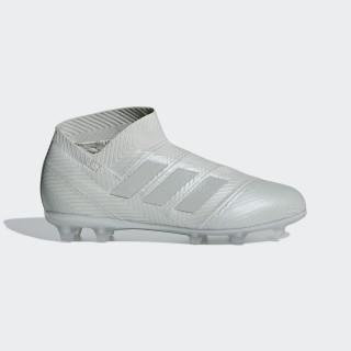 Bota de fútbol Nemeziz 18+ césped natural seco Ash Silver / Ash Silver / White Tint DB2345