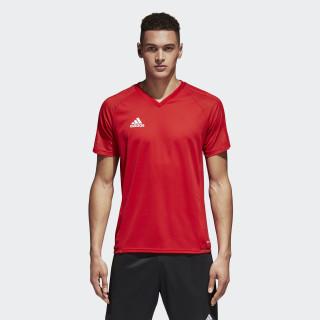 Camiseta de entrenamiento Tiro 17 Scarlet/Black/White BP8557