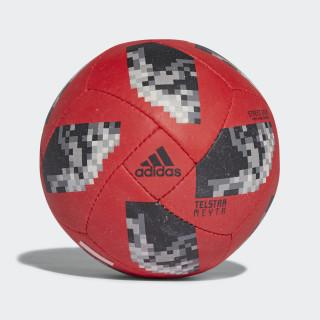 Bola FIFA World Cup Street Sala 2018 SOLAR RED/BLACK/SILVER MET. CE8137