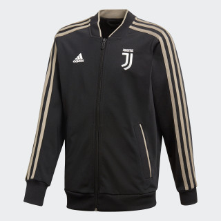 Juventus Polyester Jacket Black / Clay CW8752