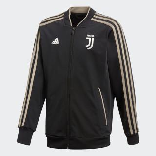 Juventus Polyester jakke Black / Clay CW8752