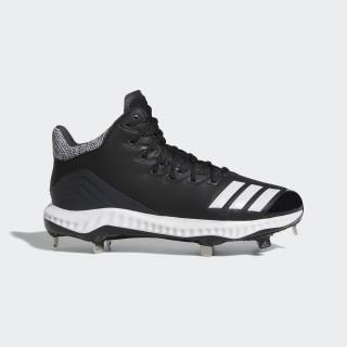 Icon Bounce Mid Cleats Core Black / Cloud White / Carbon CG5179