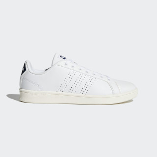 Cloudfoam Advantage Clean Shoes Footwear White/Collegiate Navy BB9624