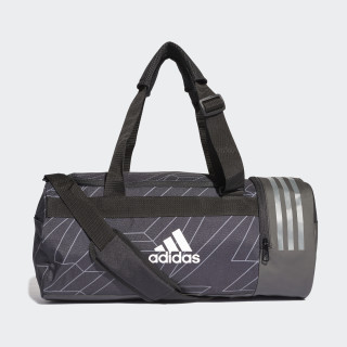 Core Duffel Bag Black / Grey Four / White CY7009