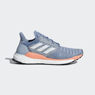 Chaussure SolarBoost Raw Grey / Ftwr White / Chalk Coral BB6603