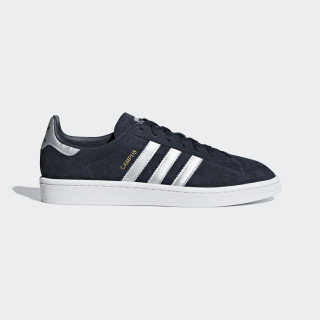 Campus Shoes Collegiate Navy / Matte Silver / Ftwr White B37826