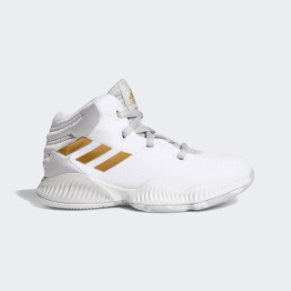 Mad Bounce 2018 Schuh Grey Two / Gold Met. / Ftwr White BB7546