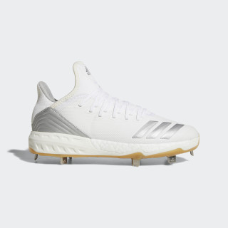 Boost Icon 4 Cleats Cloud White / Silver Metallic / Running White B27904
